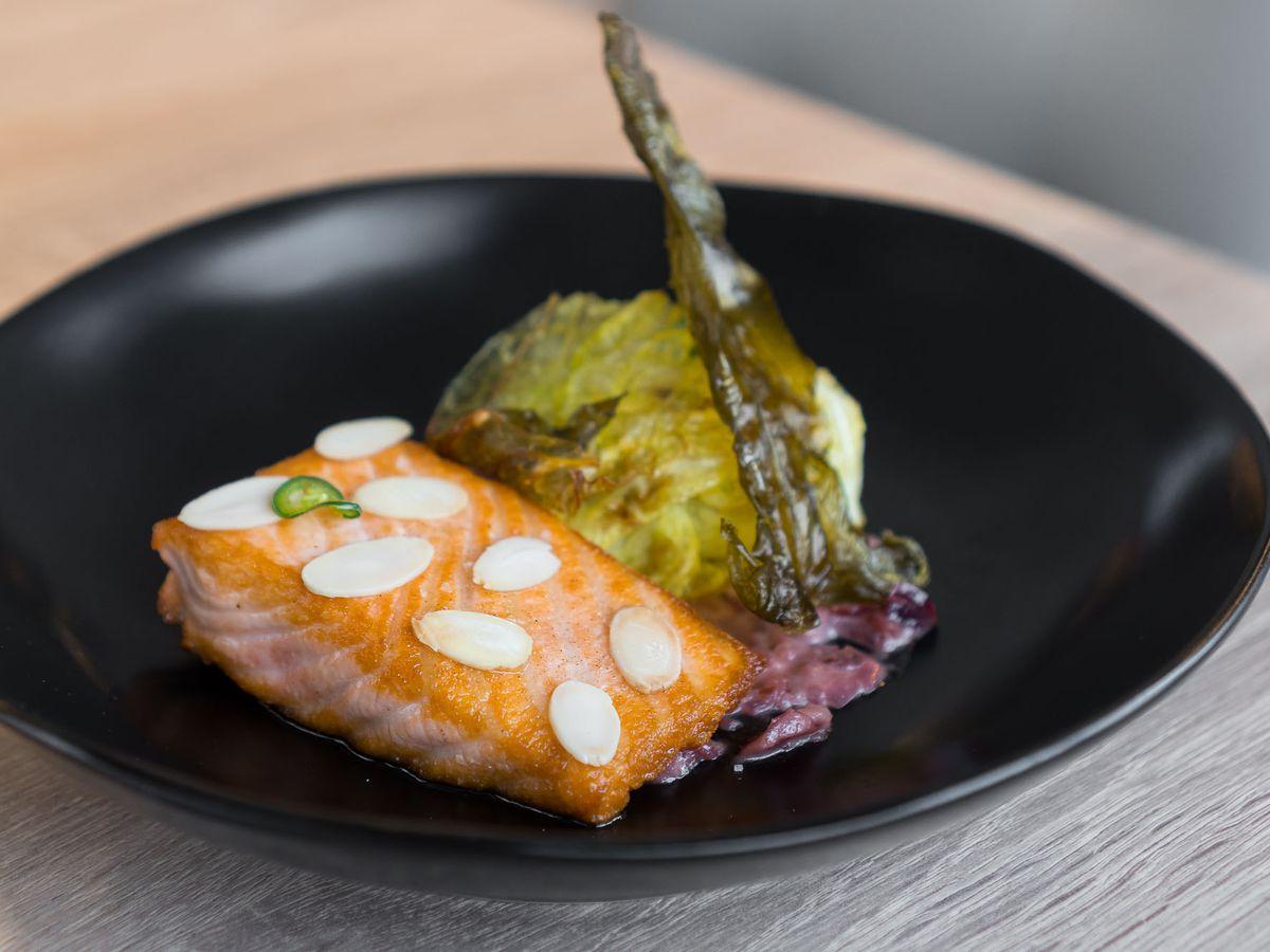Salmon at Eatt Gourmet Bistro