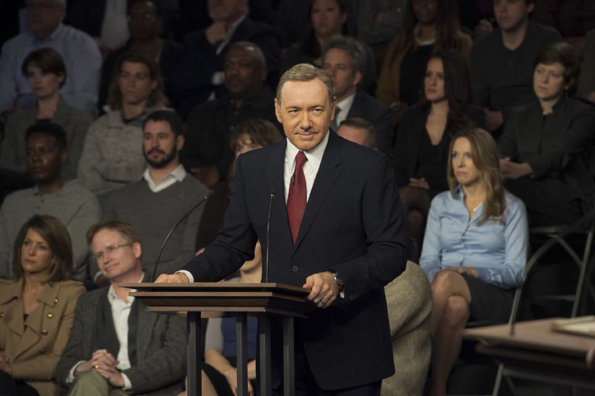 Kevin Spacey plays Frank Underwood in House of Cards. Frank's complicated sexuality turns out to be a key to understanding what the series is trying to do.