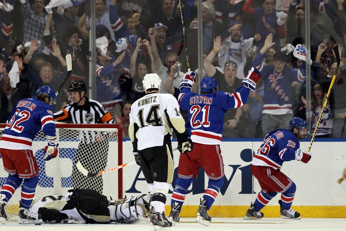 Pittsburgh Penguins v New York Rangers - Game Six
