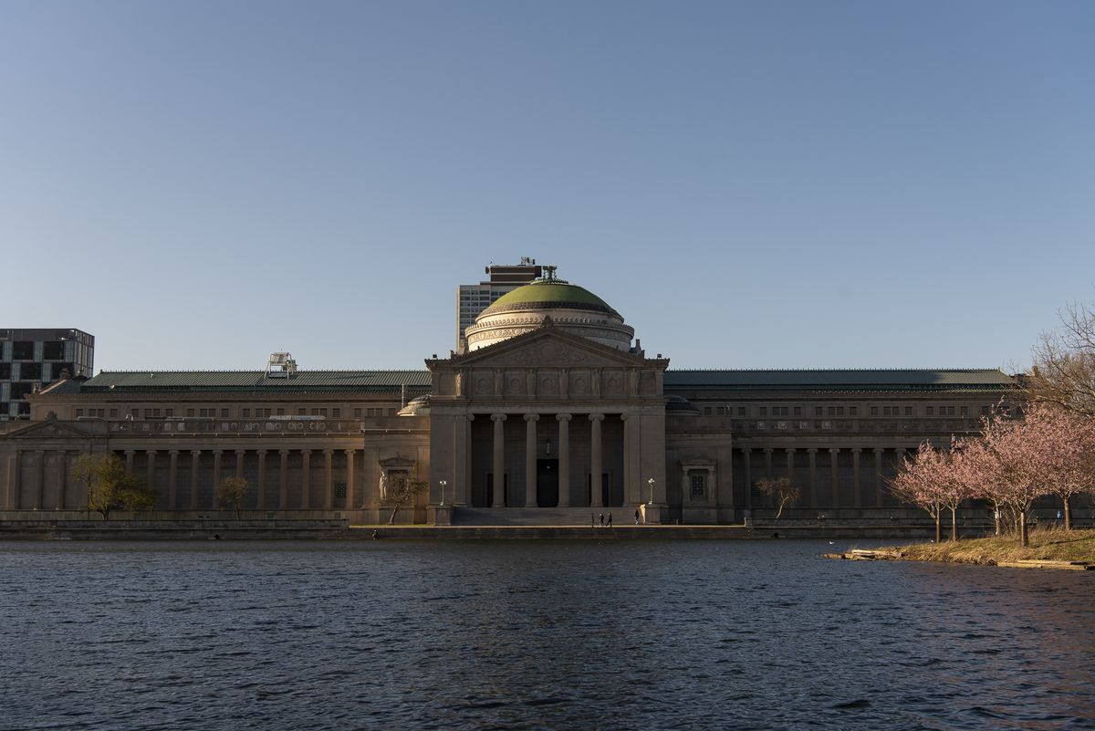 The Museum of Science and Industry at 5700 South Lake Shore Drive.