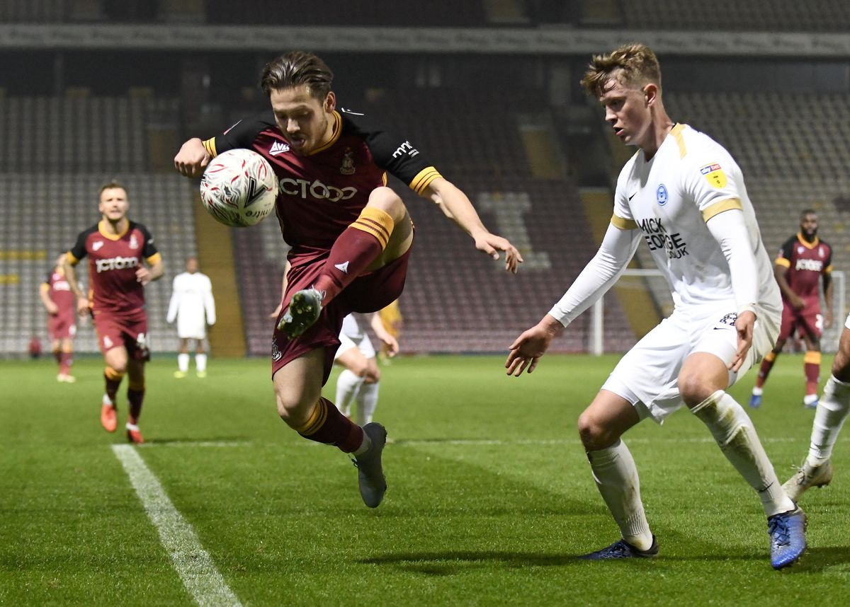 Bradford City v Peterborough United - The Emirates FA Cup Second Round Replay