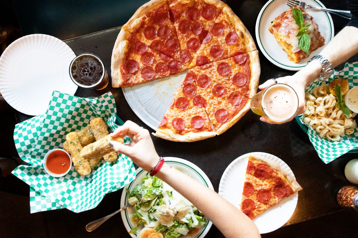 Round Table Pizza Anderson.Coal Fired Pizzeria Tony C S Opens Two New Beer Gardens In North