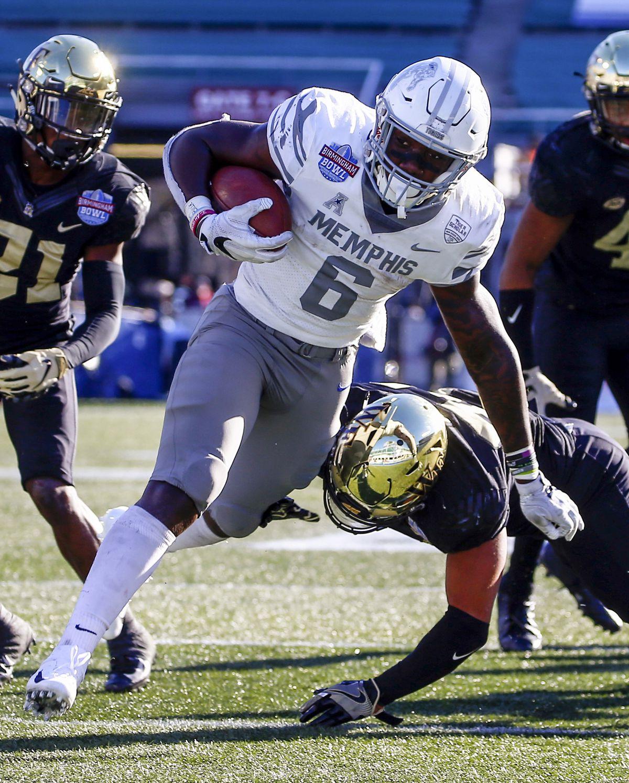 NCAA Football: Birmingham Bowl-Memphis vs Wake Forest