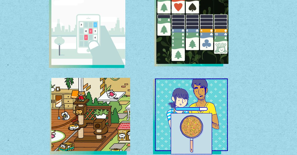 10 great mobile games : Single - player , multiplayer , or both