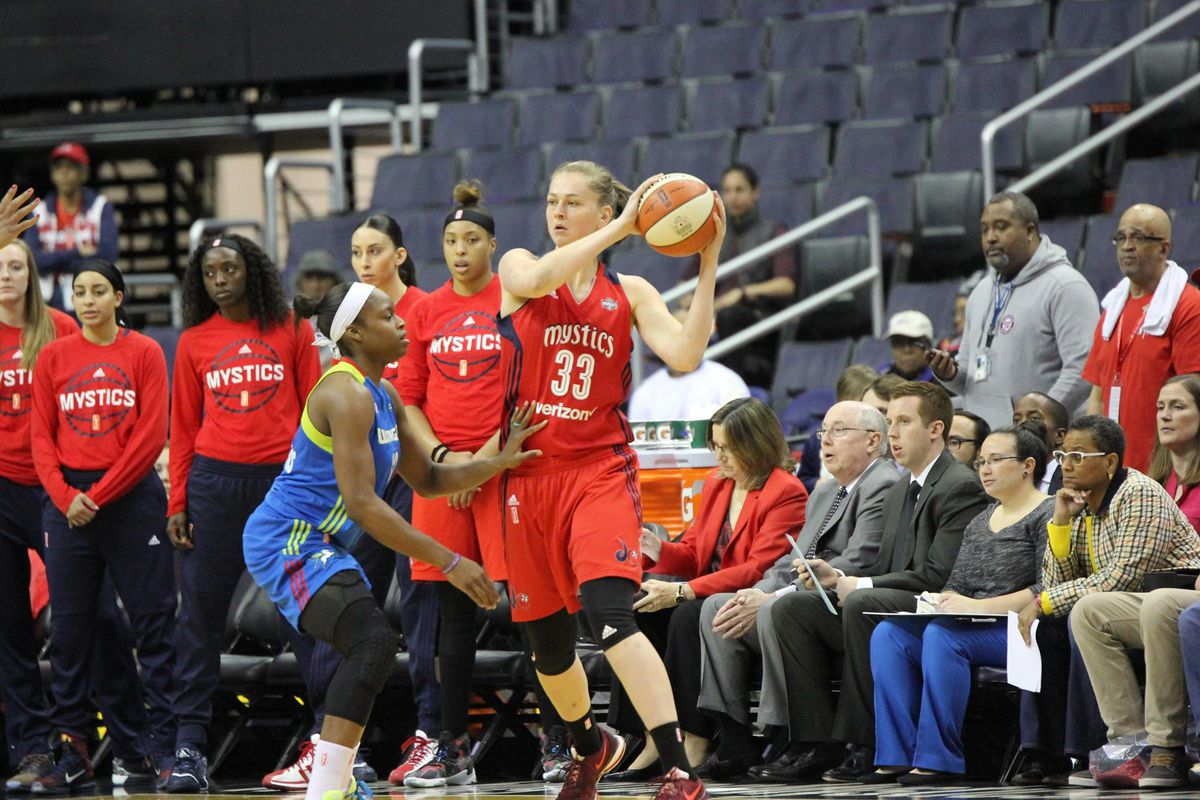 Emma Meesseman talks about Russia vs  the WNBA, Tim Duncan, and her