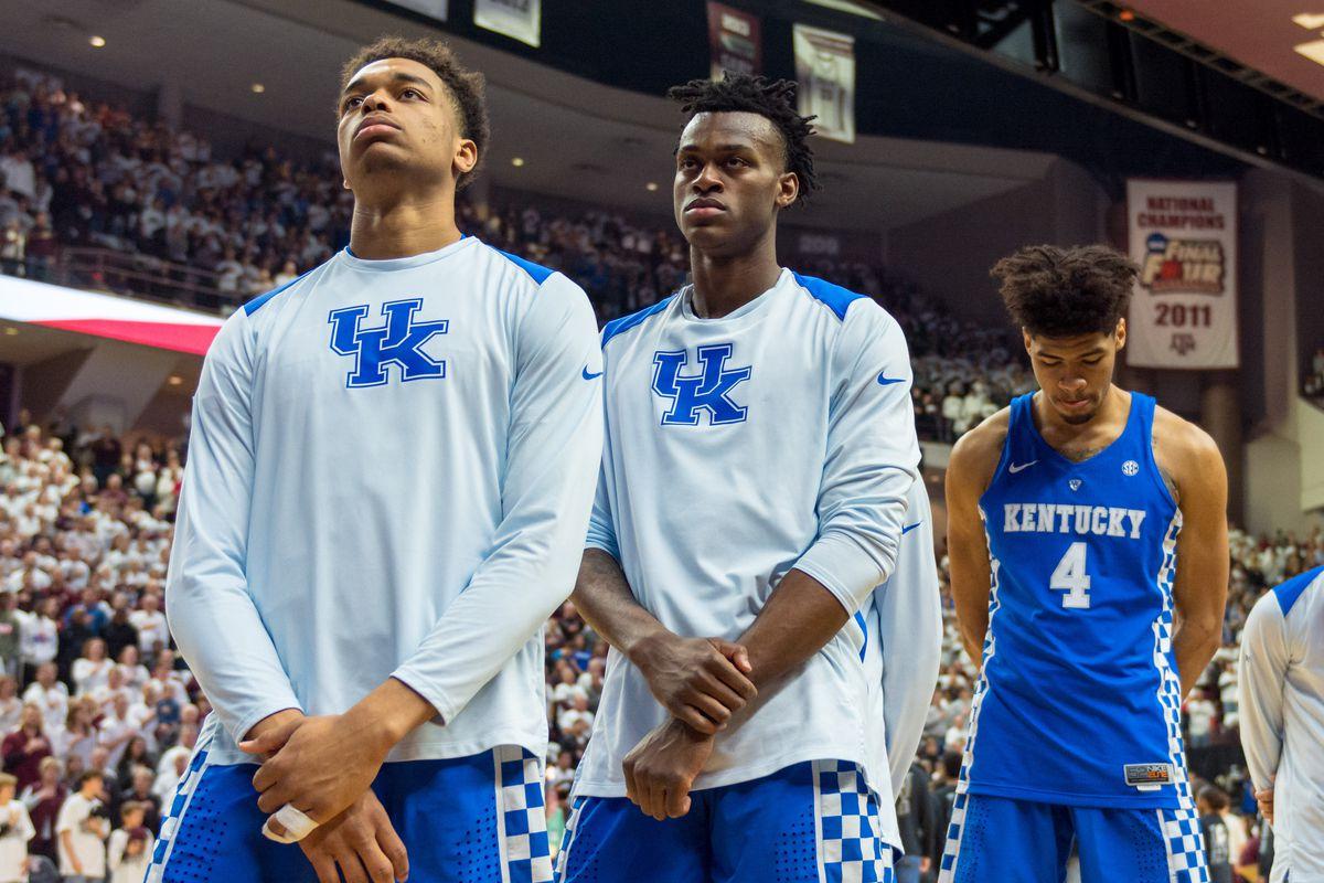 NCAA Basketball: Kentucky at Texas A&M