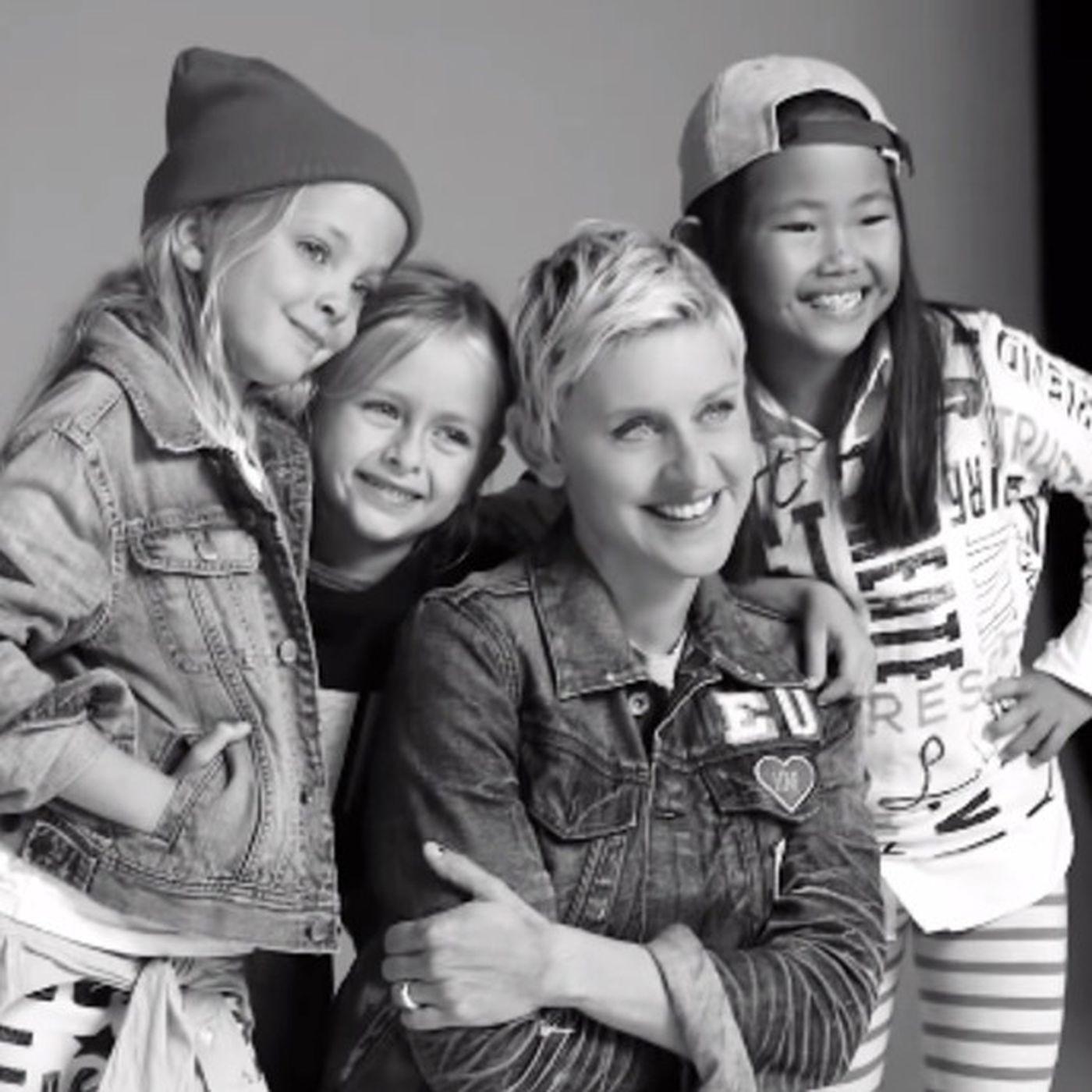 Ellen Degeneres Partnered With Gap Kids For A Clothing Line Racked