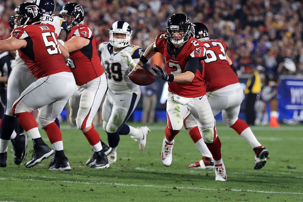 National Football League playoffs: Falcons vs. Rams