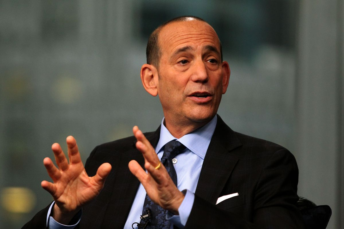 """""""The important thing to remember is, every penny we pay the players is a penny that our investor/operators are losing. And no one likes losing, even when you're worth a trillion pennies."""" - something Don Garber has never said"""