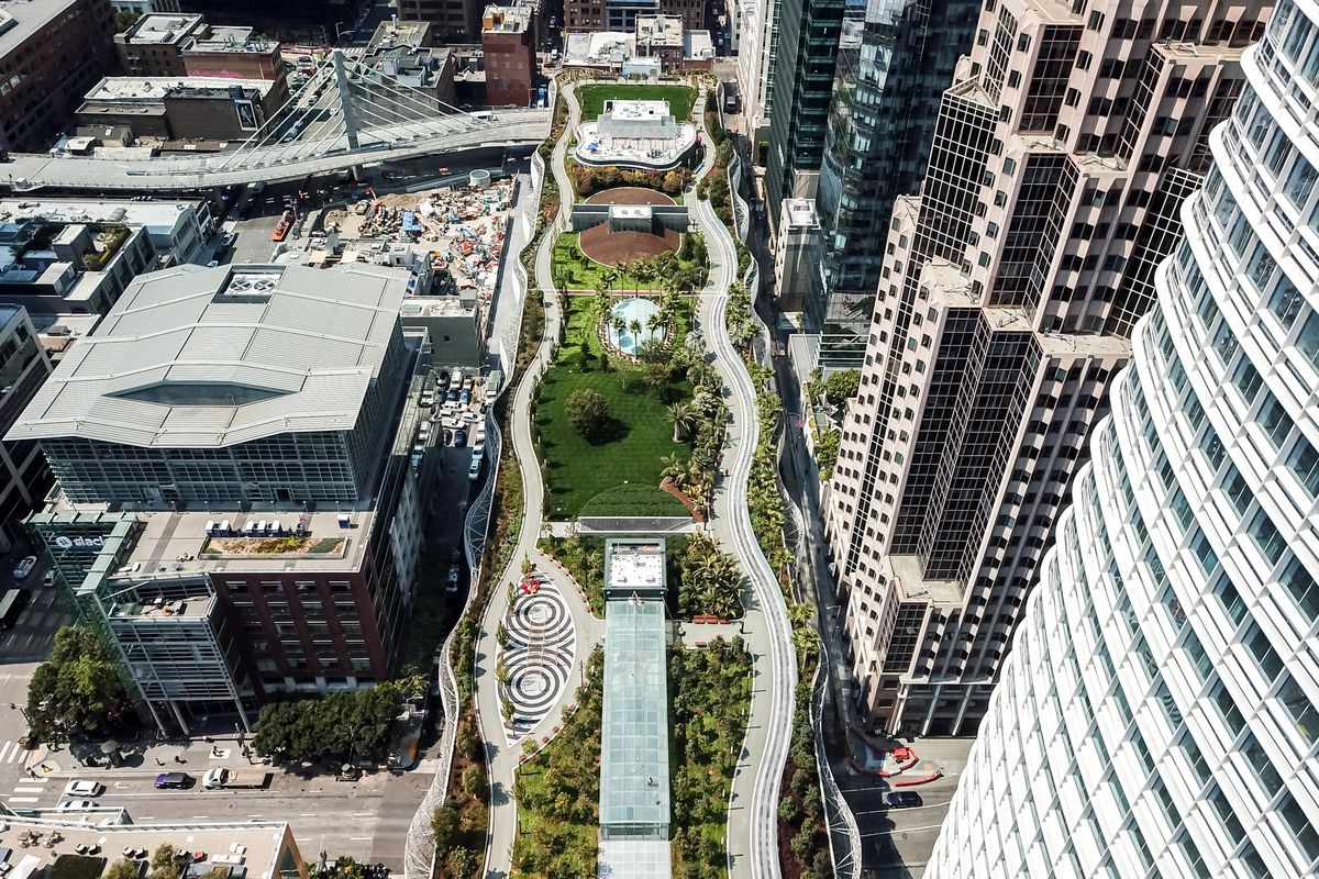 Transbay Transit Center And Salesforce Park Won T Reopen