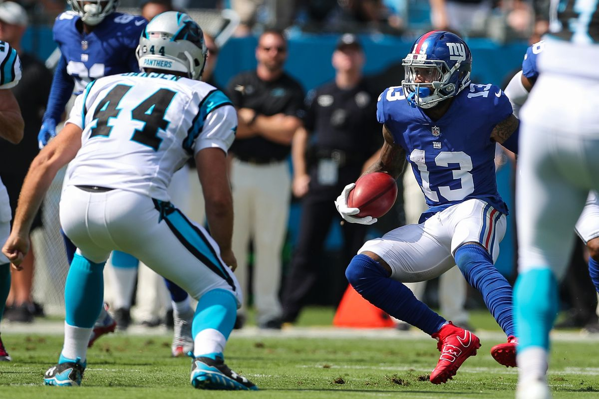 odell beckham did everything for the giants offense it wasn t