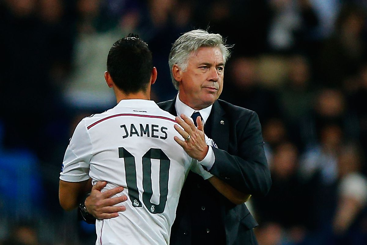 Ancelotti wants to sign James and Bale for Everton -report ...