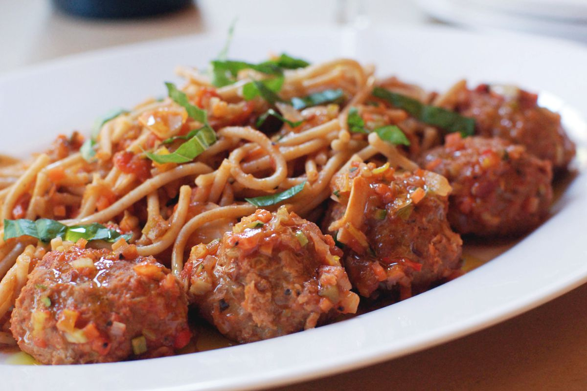 What's better than spaghetti and meatballs? Nothing.