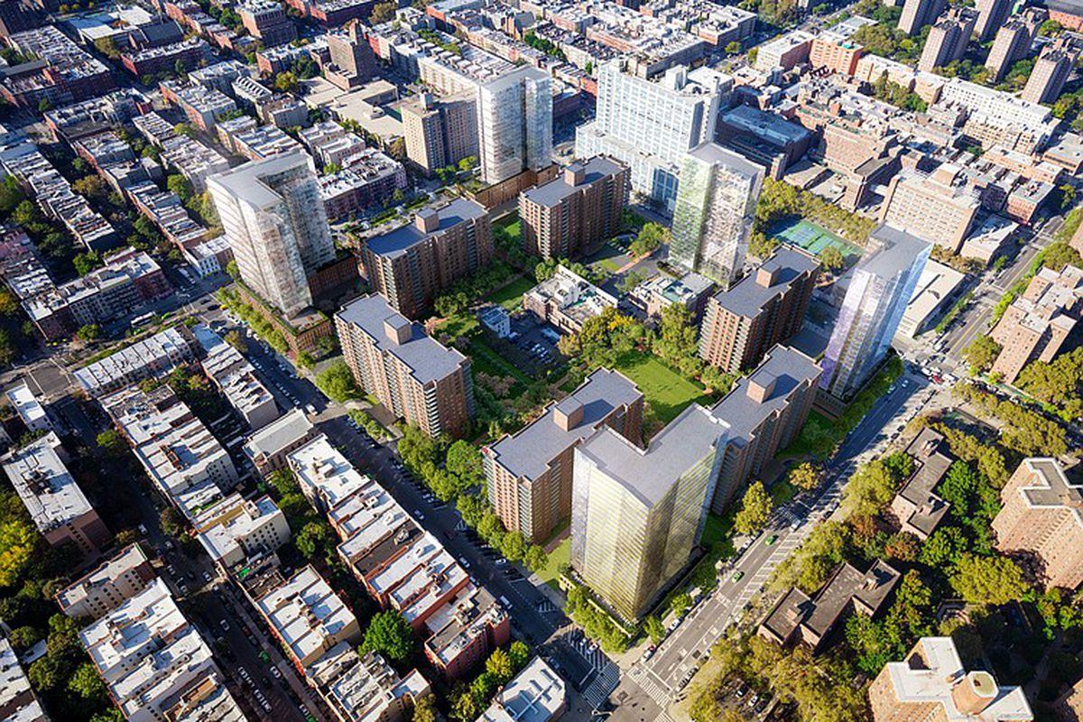 Dormant Expansion Plan For Harlem S Lenox Terrace Complex Will Enter Public Review