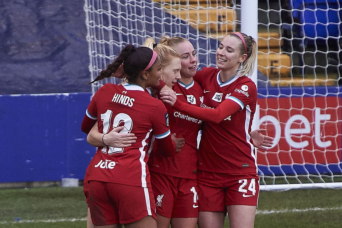 Liverpool Women v Coventry United: FA Women's Championship