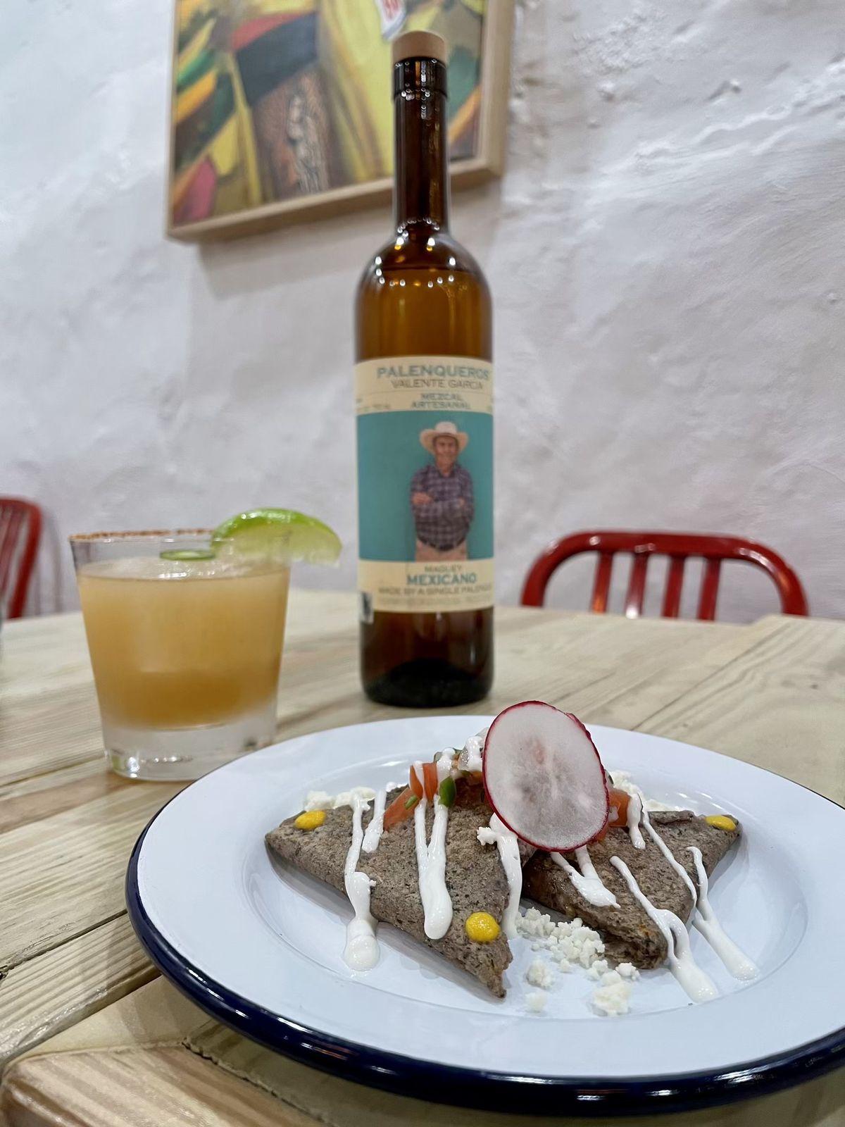 Taqueria al Lado grinds its masa in-house