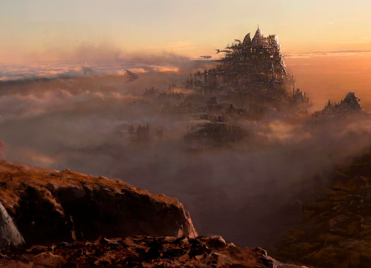 Whatever its faults as a story, Mortal Engines is eyepoppingly beautiful.