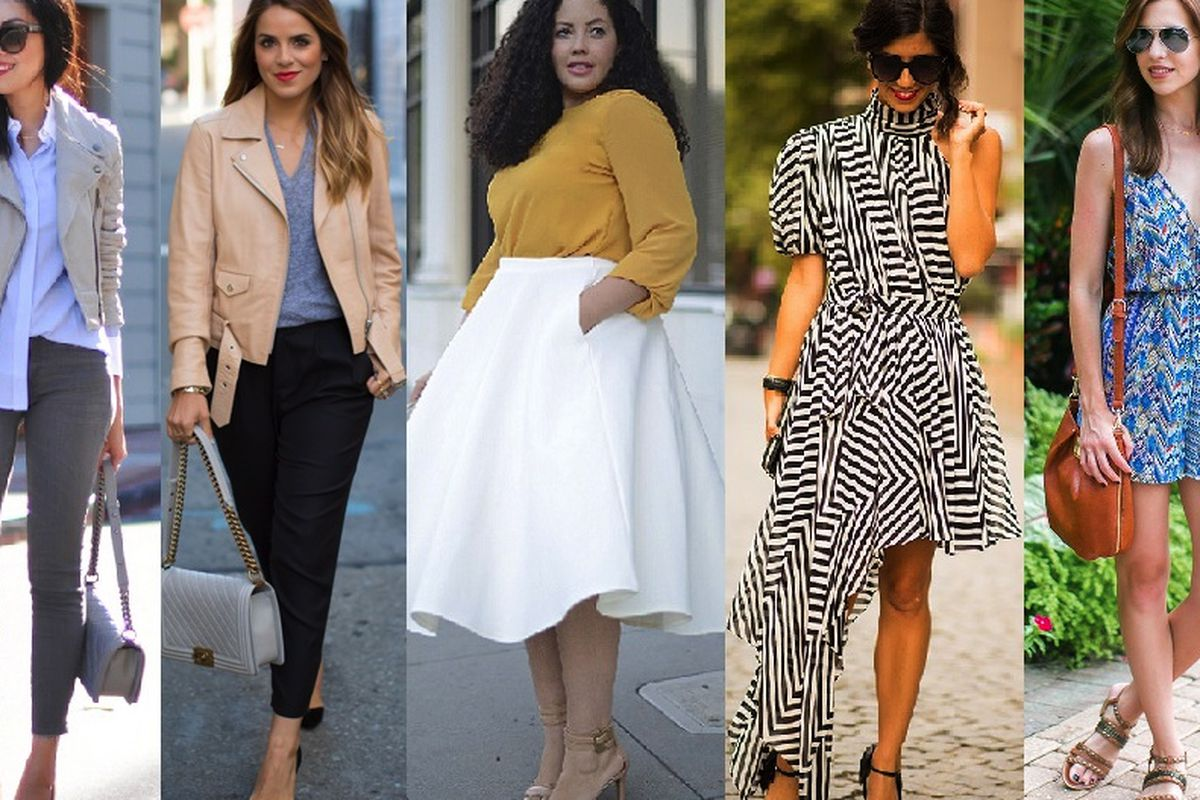 """Our favorite Bay Area bloggers, (L-R) Anh Sundstrom of <a href=""""http://9to5chic.com"""">9 to 5 Chic</a>, Julia Engel of <a href=""""http://galmeetsglam.com"""">Gal Meets Glam</a>, Tanesha Awasthi of <a href=""""http://girlwithcurves.com"""">Girl With Curves</a>, K"""