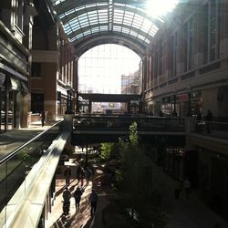 Shoppers line up at City Creek during the mall's grand opening Thursday,  March 22, 2012.