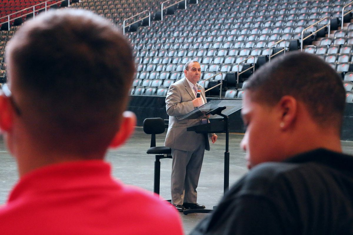 """Like his predecessors, Superintendent Roger León is taking on Newark's """"epidemic"""" of absenteeism. It won't be easy."""