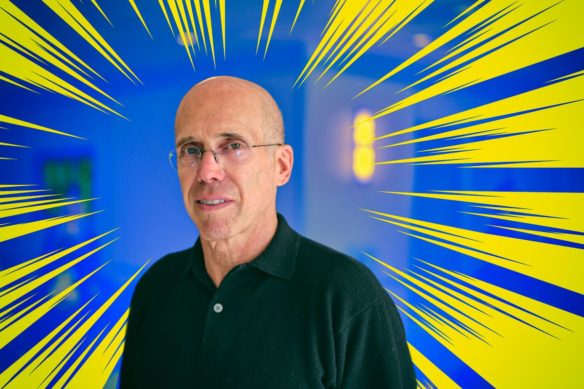 Quibi founder and board chairman Jeffrey Katzenberg