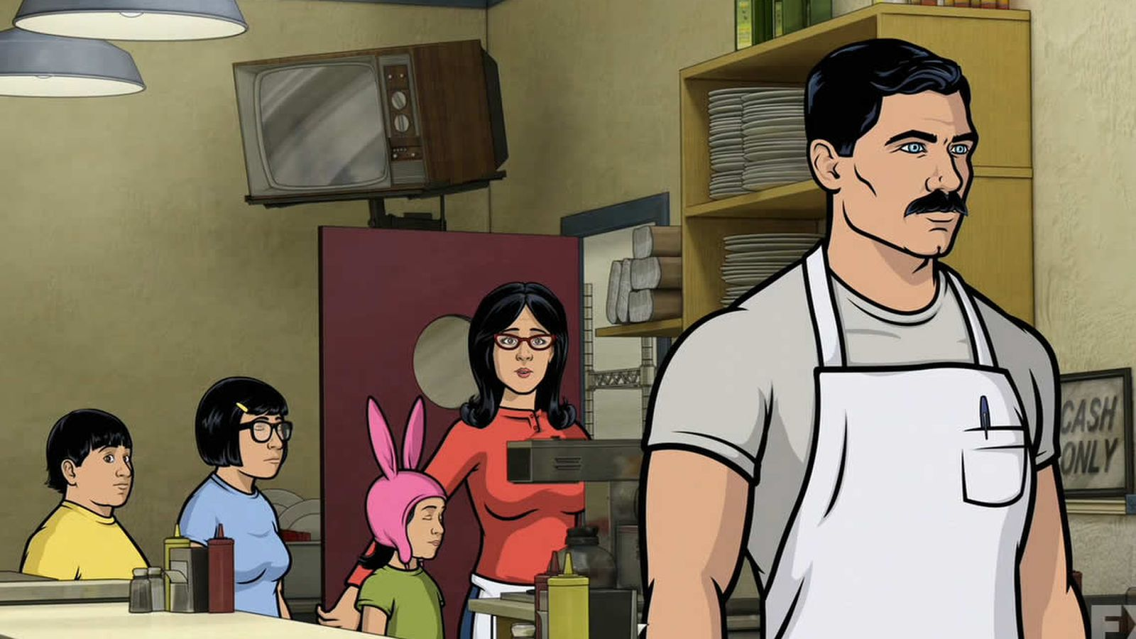 The Bobs Burgers And Archer Crossover Isnt Dead Yet -8678