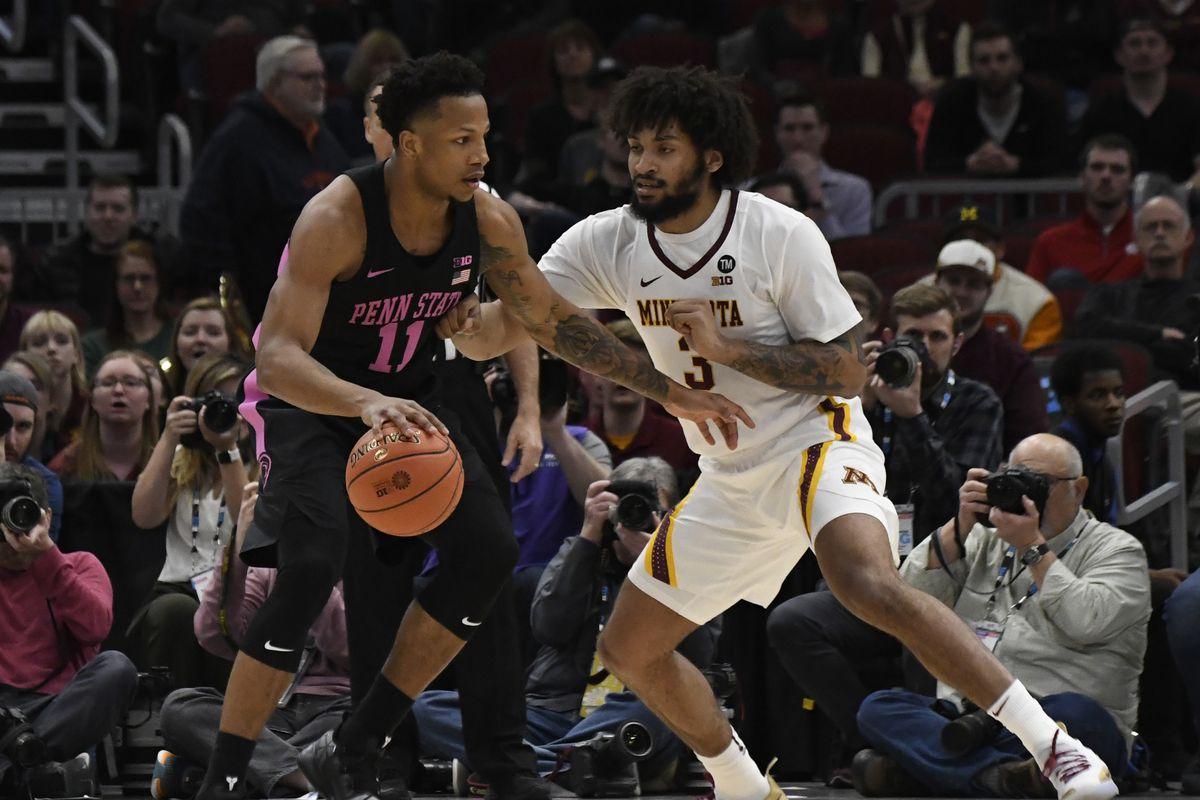 NCAA Basketball: Big Ten Conference Tournament-Minnesota vs Penn State