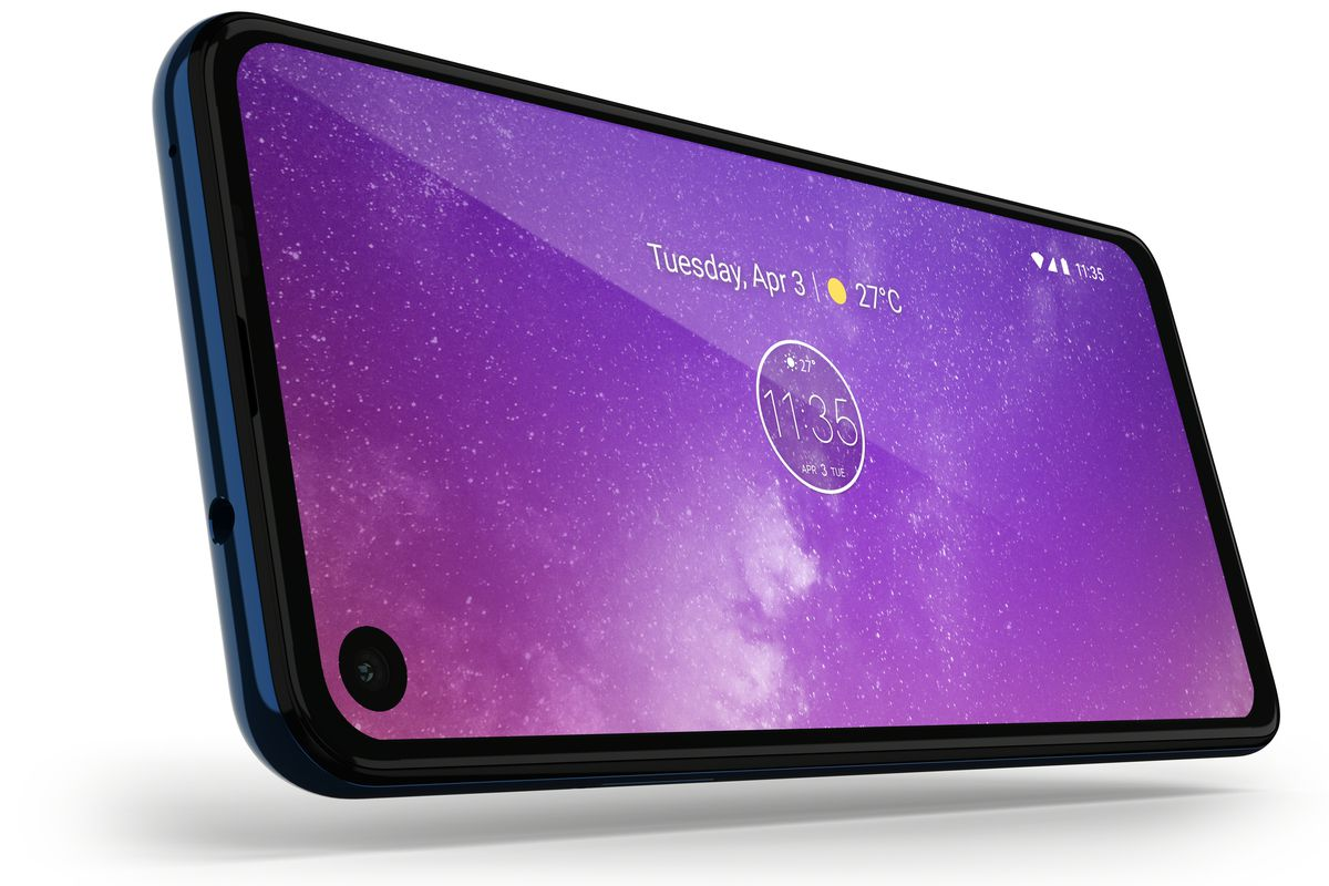 The Motorola One Vision has a 21:9 screen and looks less