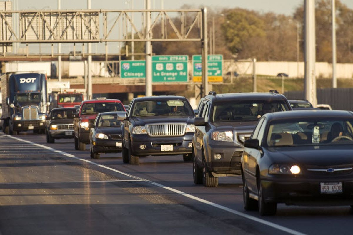 Chicago traffic and commuting update at 6 a m  - Chicago - Chicago