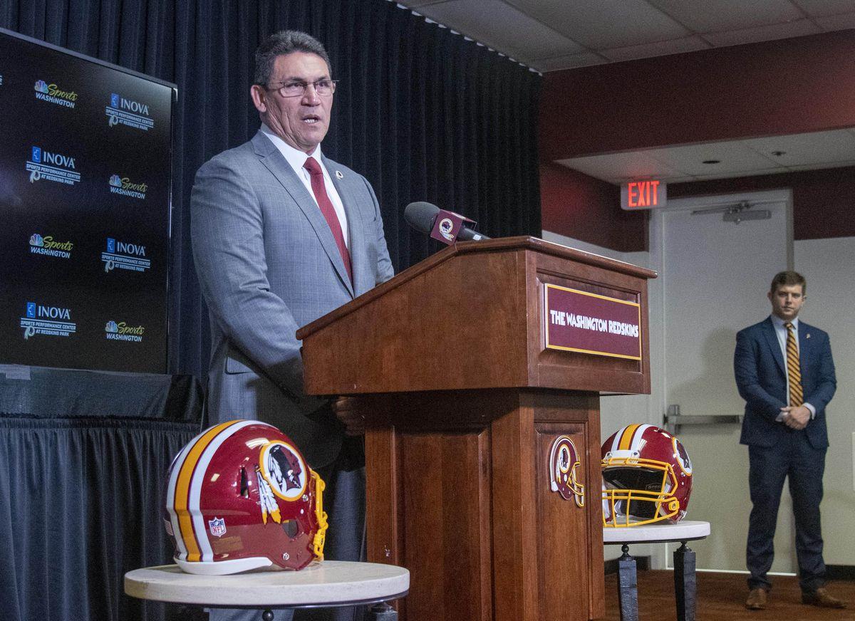 NFL: Washington Redskins-Head Coach Ron Rivera Press Conference