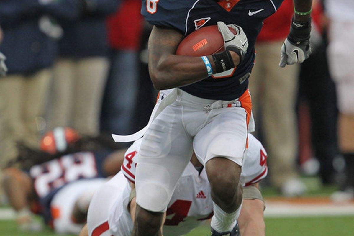 A.J. Jenkins  ain't walking through that door Illinois fans. Do the Illini have anybody else who can catch the ball?