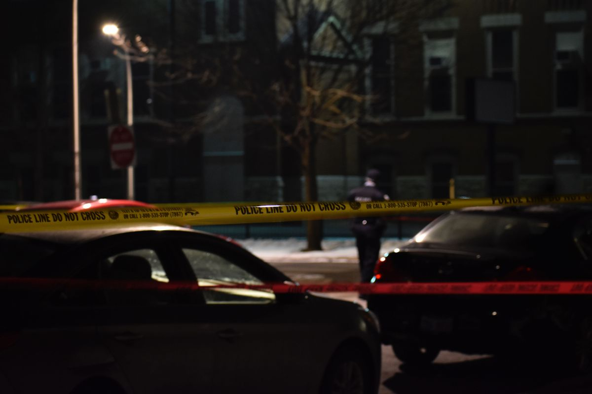A man was shot to death and a 7-year-old girl was wounded Feb. 9, 2020, in the 1300 block of North Rockwell Street in Humboldt Park.