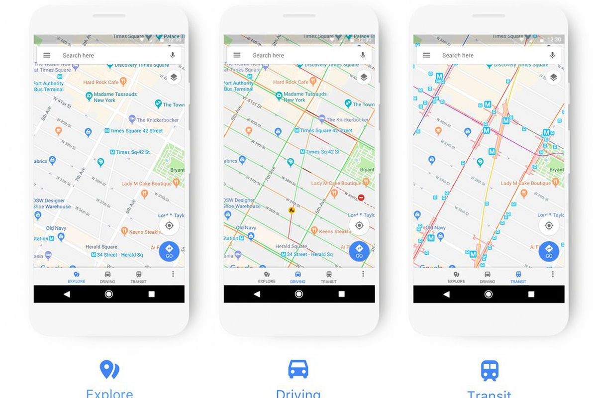 Google Maps updates its color scheme to make it easier to ... on colorado google maps, first google maps, oregon google maps, street view google maps, maps google maps, california google maps, united states google maps,