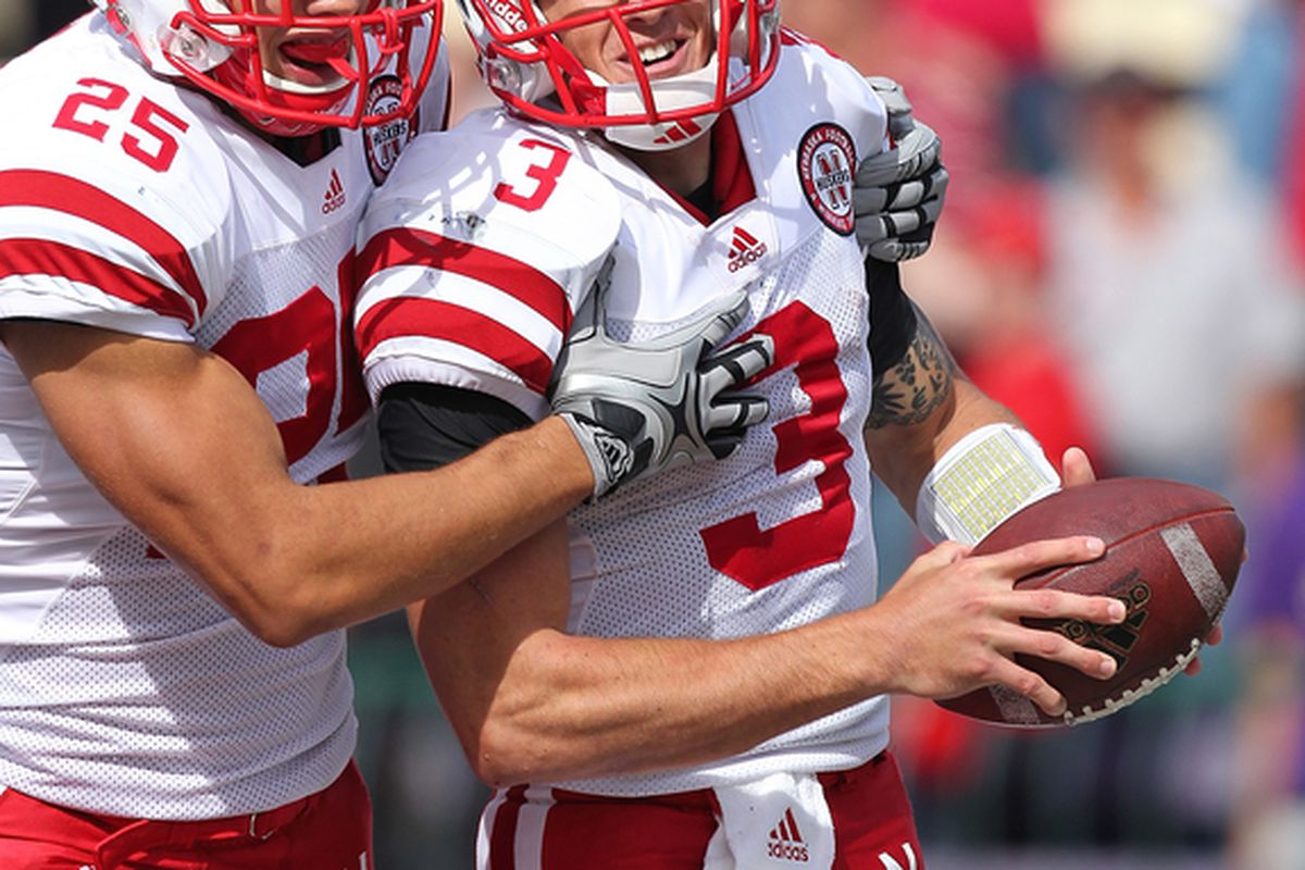 Is Taylor Martinez maturing into a team leader? Husker coaches and players are talking that way. (Photo by Otto Greule Jr/Getty Images)