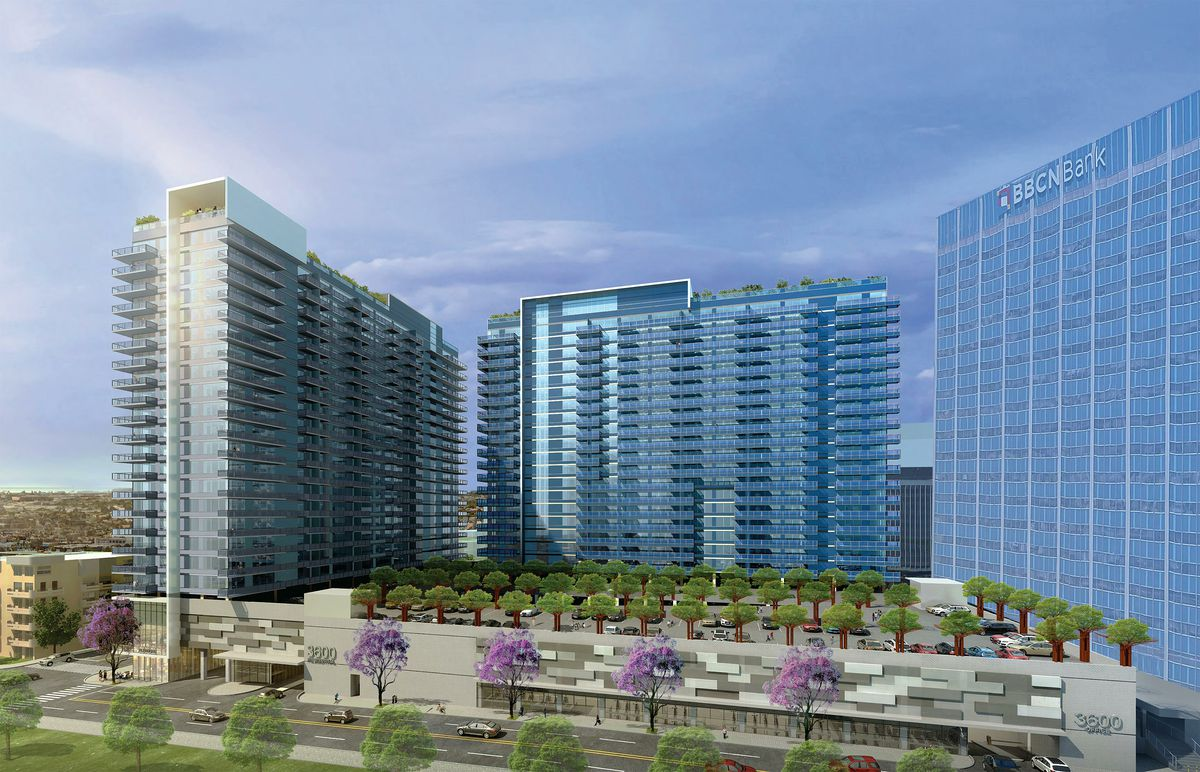 See The Two 23 Story Buildings Set To Replace A Koreatown