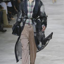 A model wears a creation by Belgian fashion designer Dries van Noten for the fashion house's Spring Summer 2013 ready-to-wear collection, for Fashion Week, in Paris, Wednesday, Sept. 26, 2012.