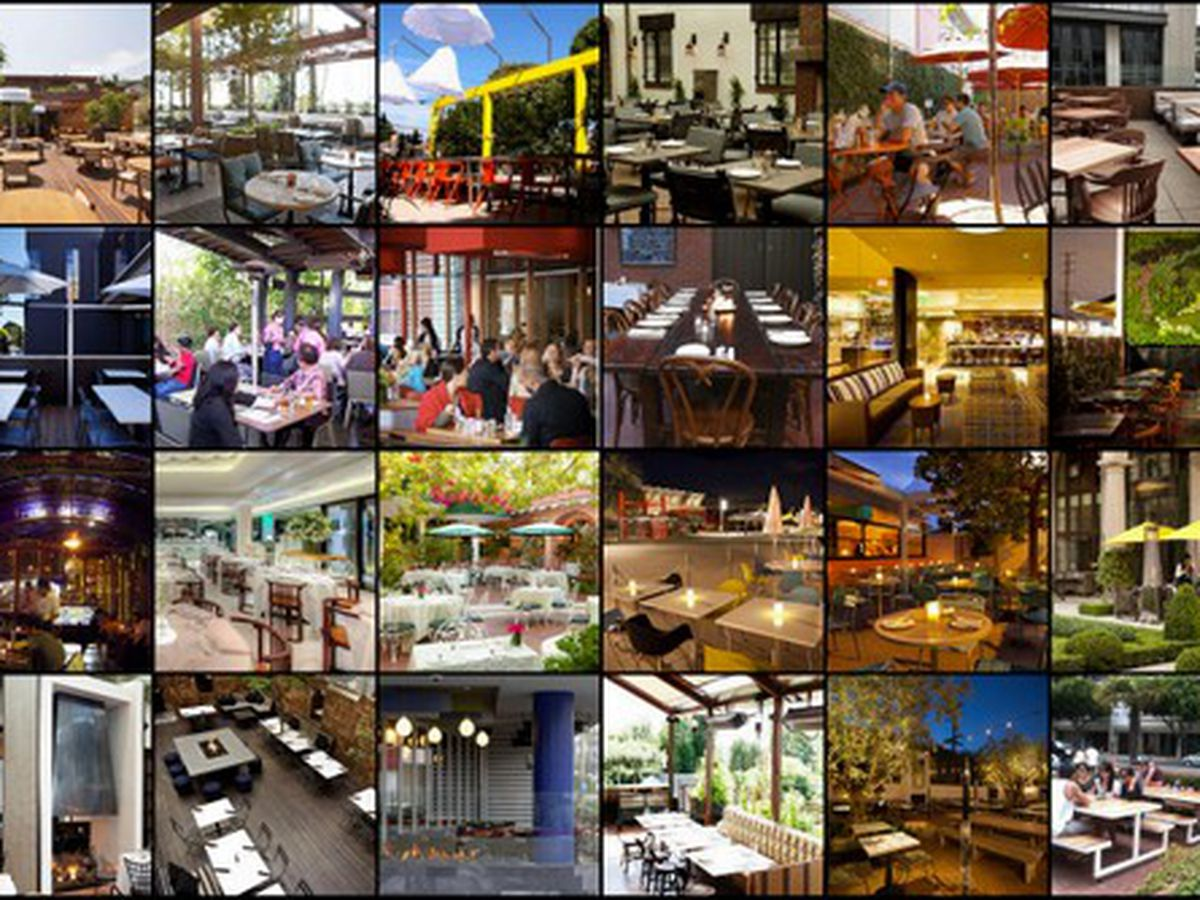 A Guide to Al Fresco Dining in Los Angeles, Winter 2014