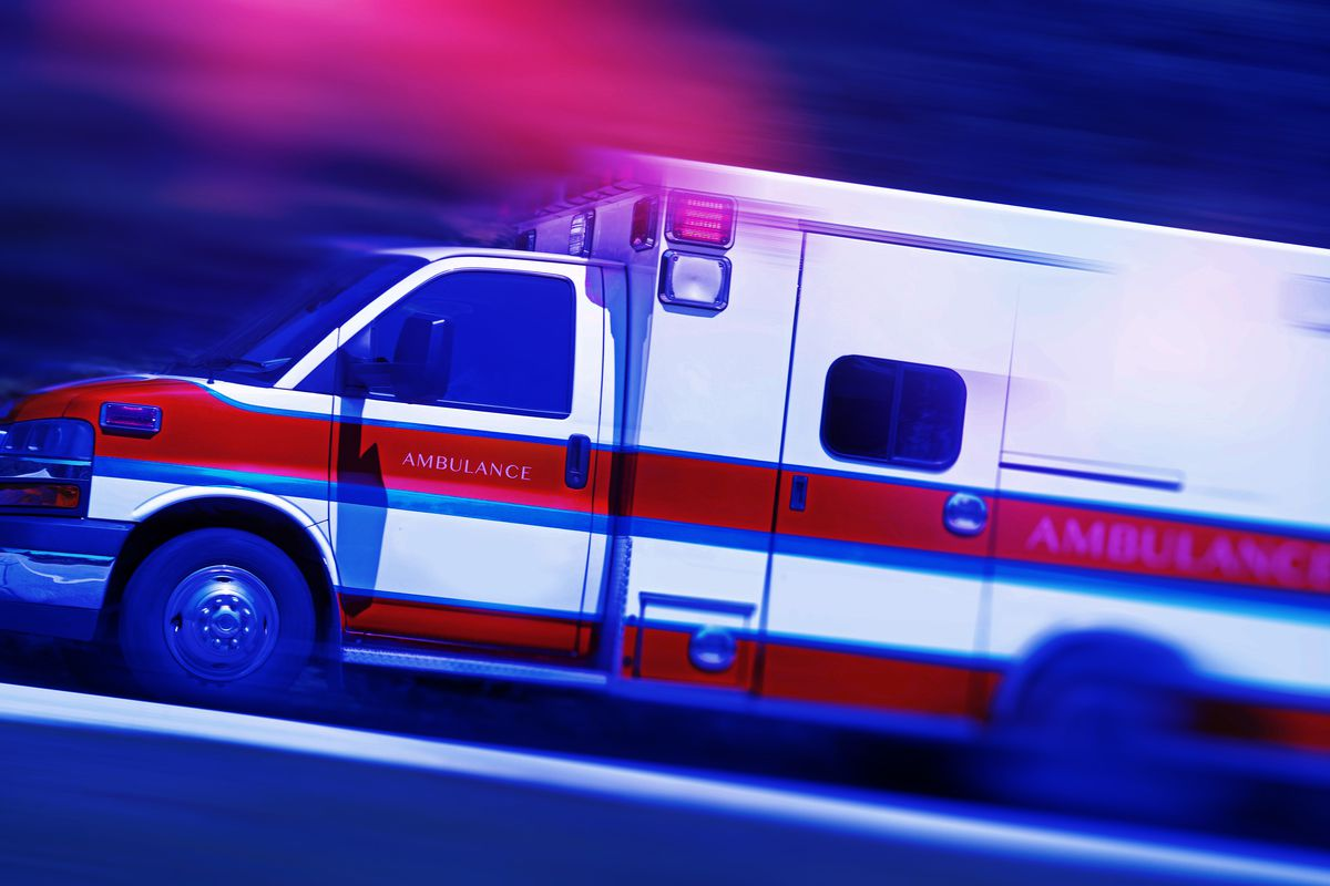FILE - A concrete barrier crushed a 46-year-old man's legs Friday night, leaving him with serious injuries, after a Wasatch County Fair Days demolition derby accident.