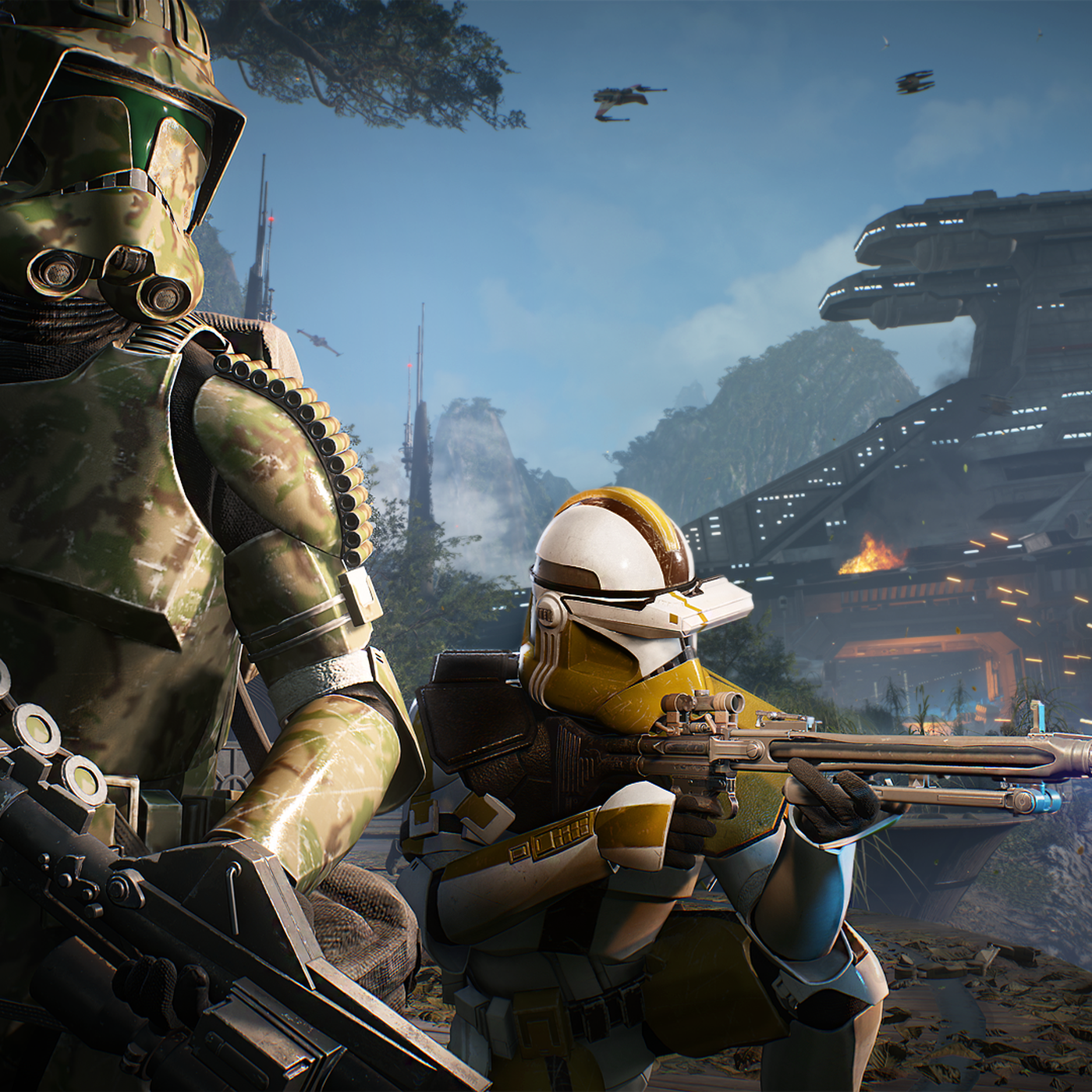 Star Wars Battlefront 2 Adds Elite Clone Troopers In Latest Update