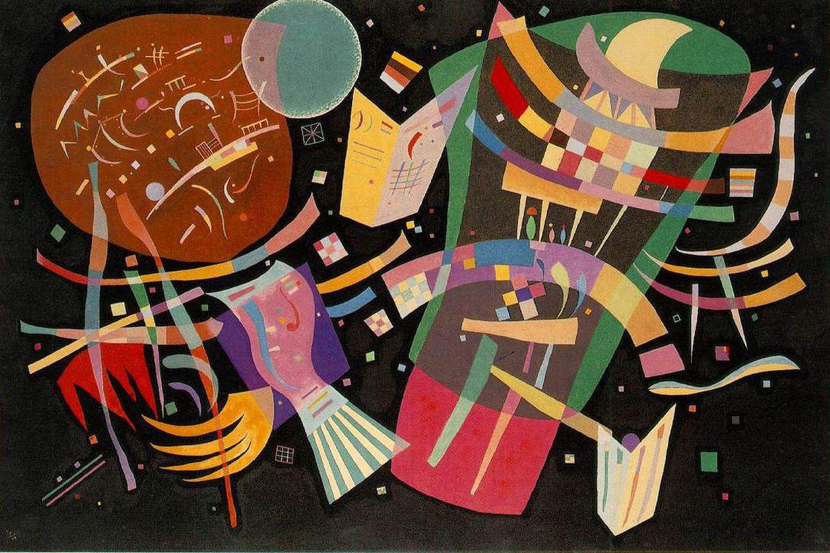 kandinsky composition x, synesthesia