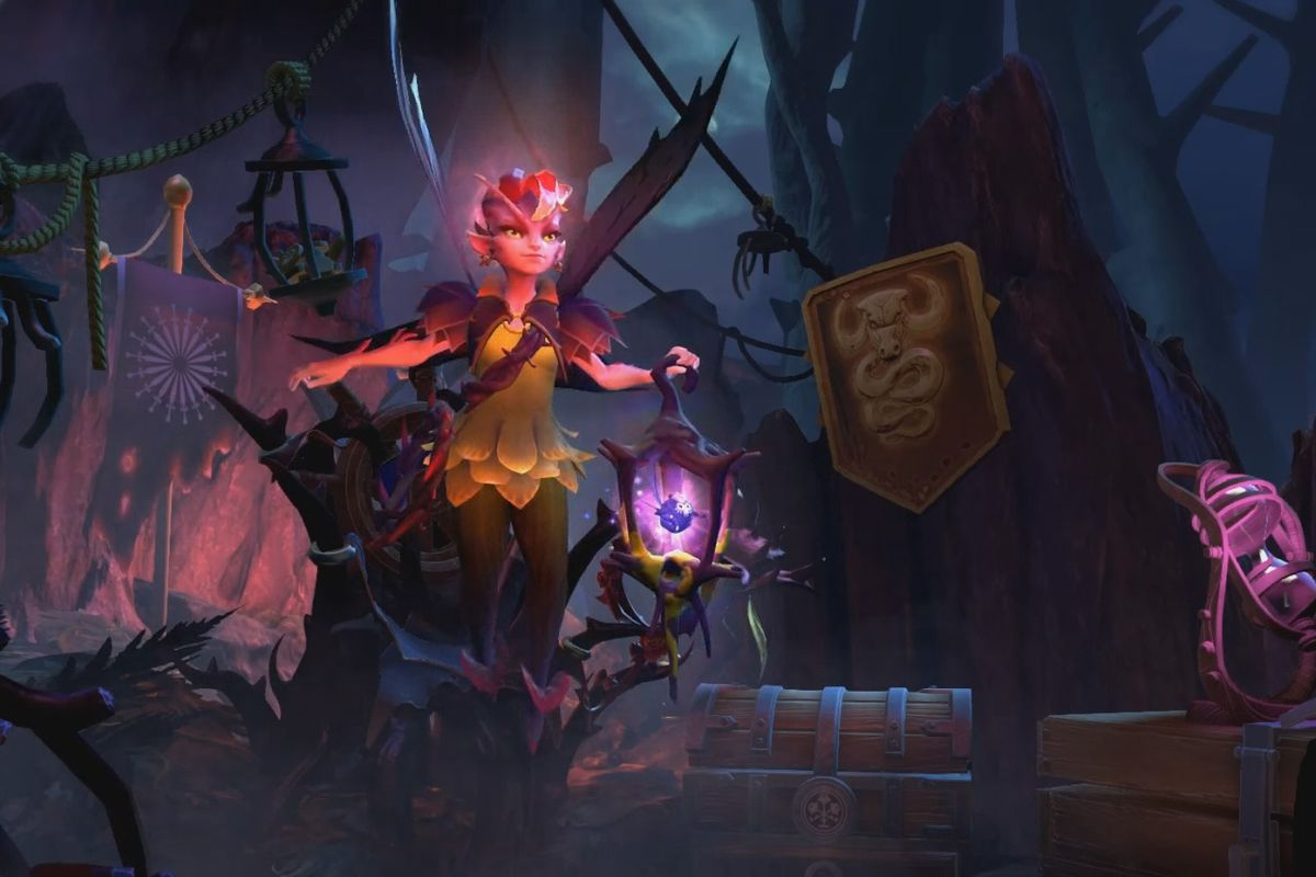 Dark Willow One Of Dota S New Heroes With The Dueling Fates Update Dota  Dueling Fates Update Valve