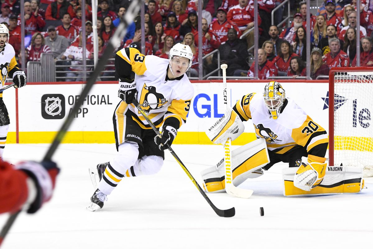 NHL: APR 29 Stanley Cup Playoffs Second Round Game 2 - Penguins at Capitals