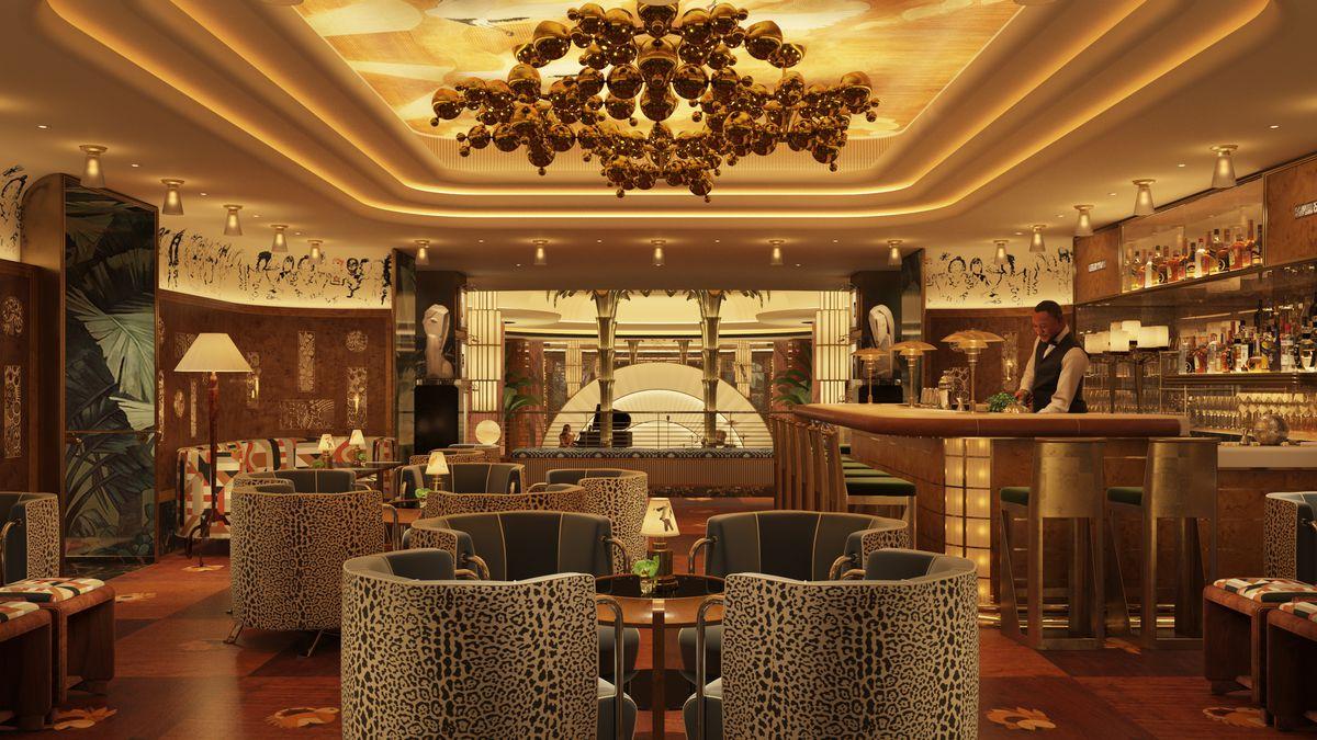 The upper bar at Delilah