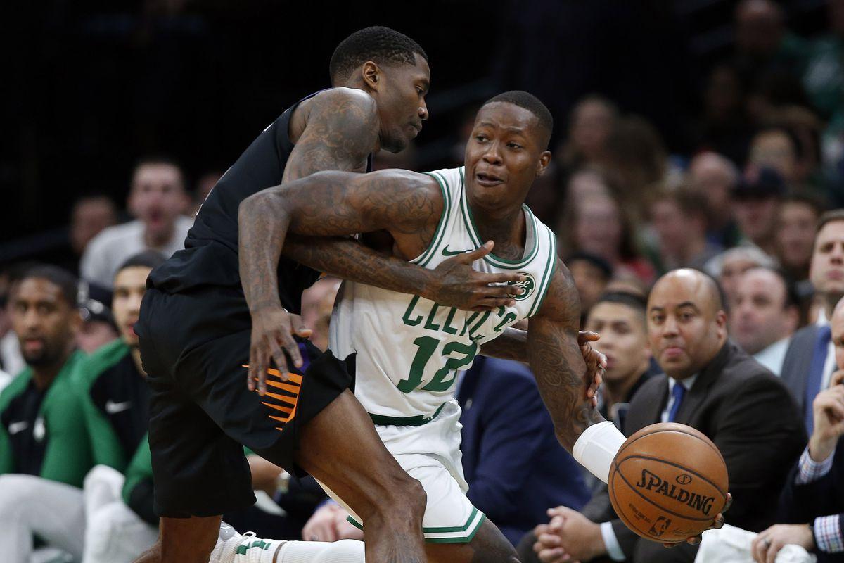 NBA: Phoenix Suns at Boston Celtics