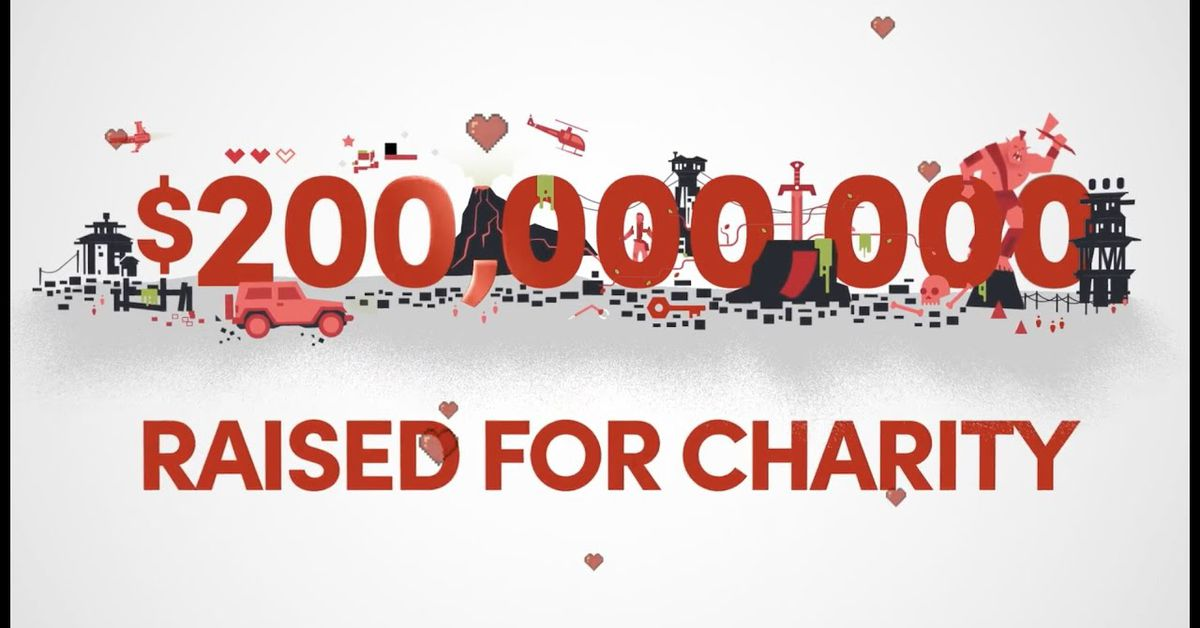 Humble Bundle raises 0 million for charity thanks to generous gamers