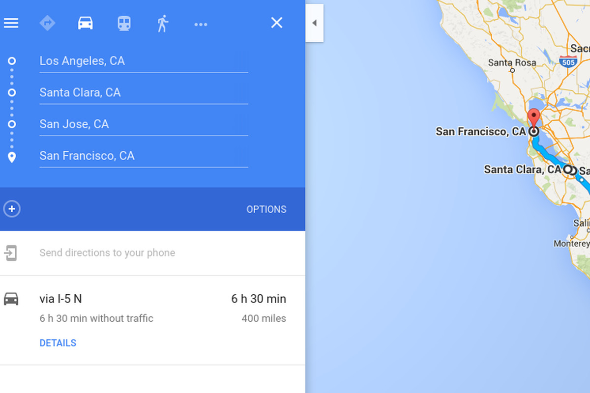 How To Add Multiple Destinations In Google Maps App Iphone