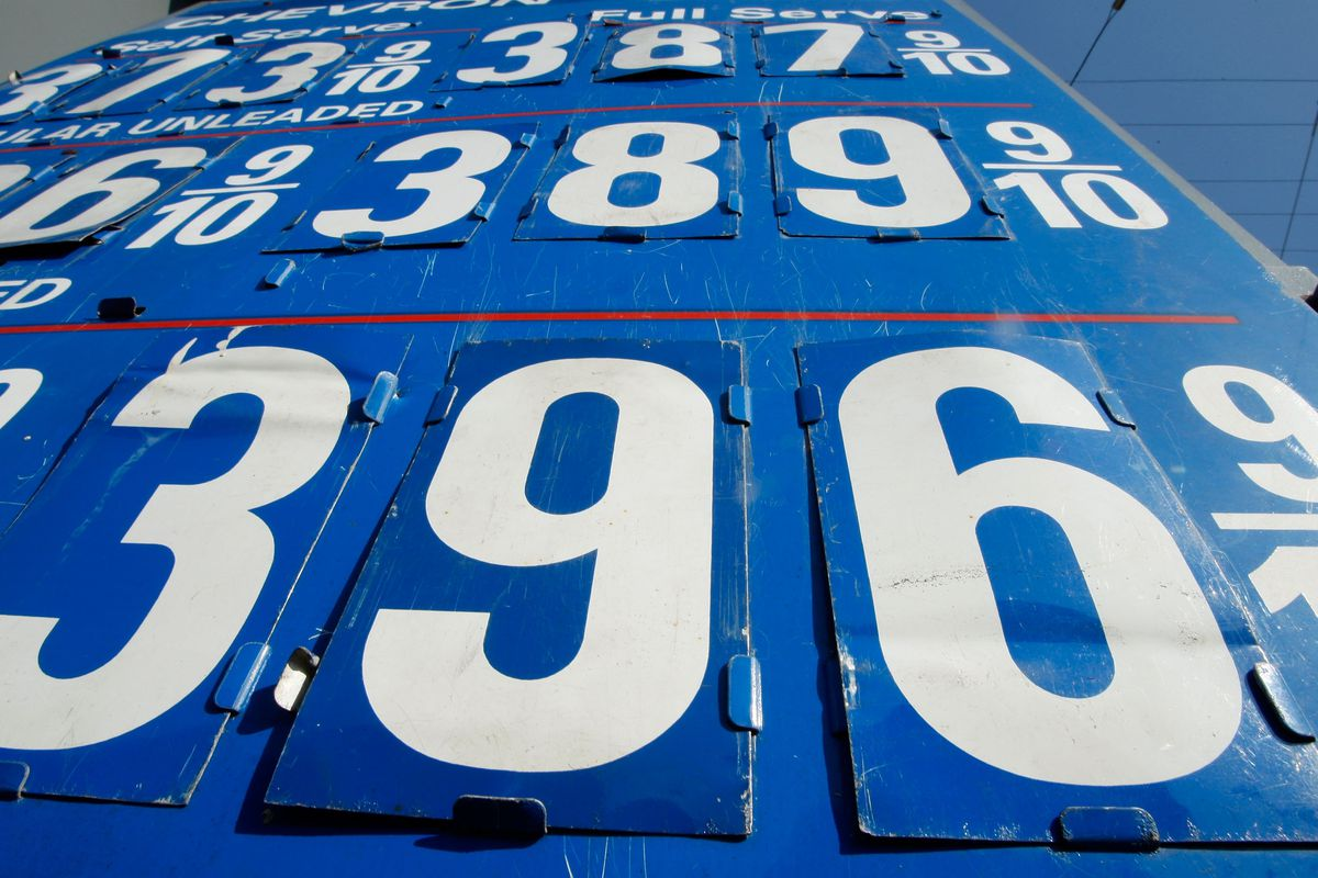 National Average Gas Price Rises Above $3 A Gallon