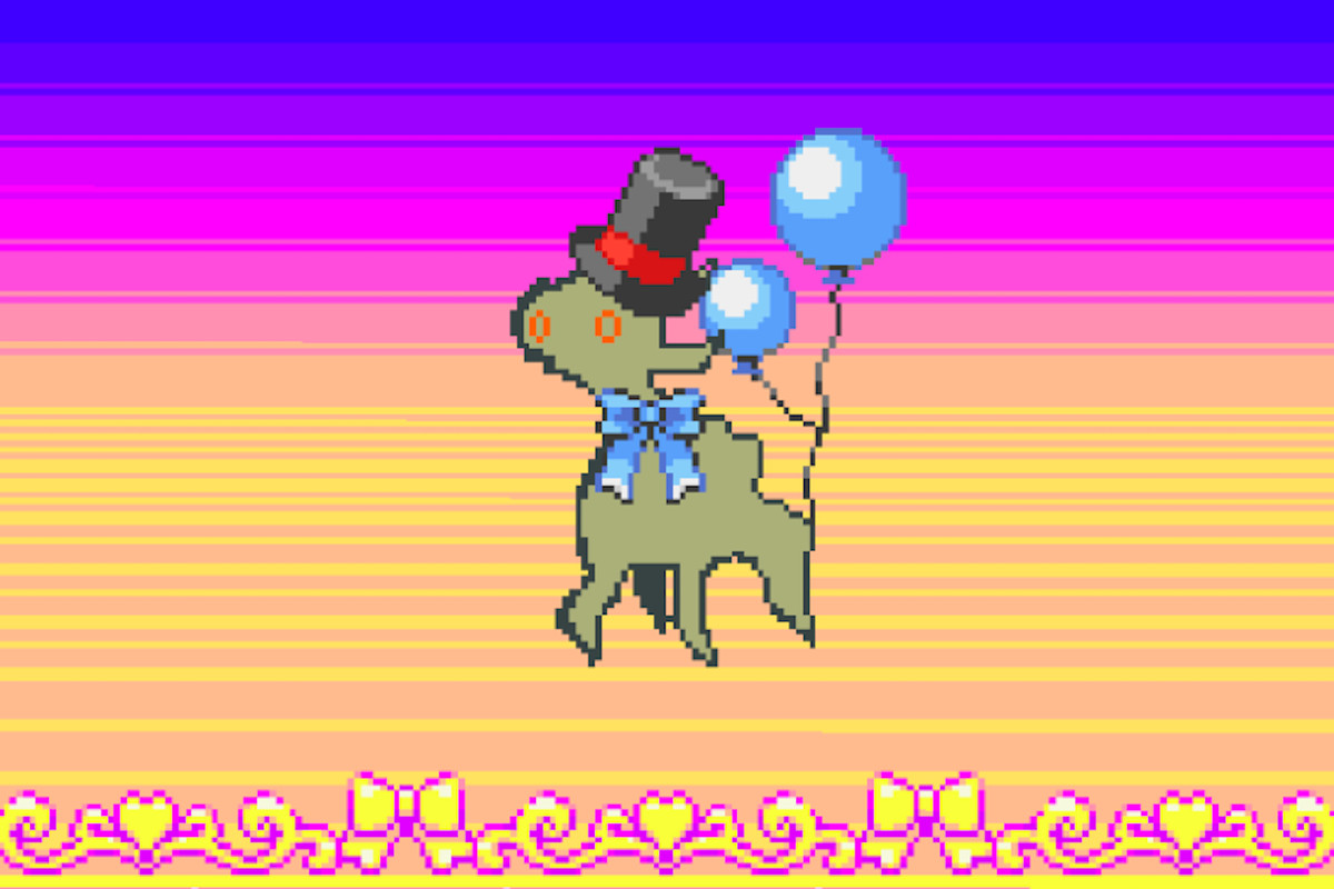 An early version of Arceus, the Pokemon god.