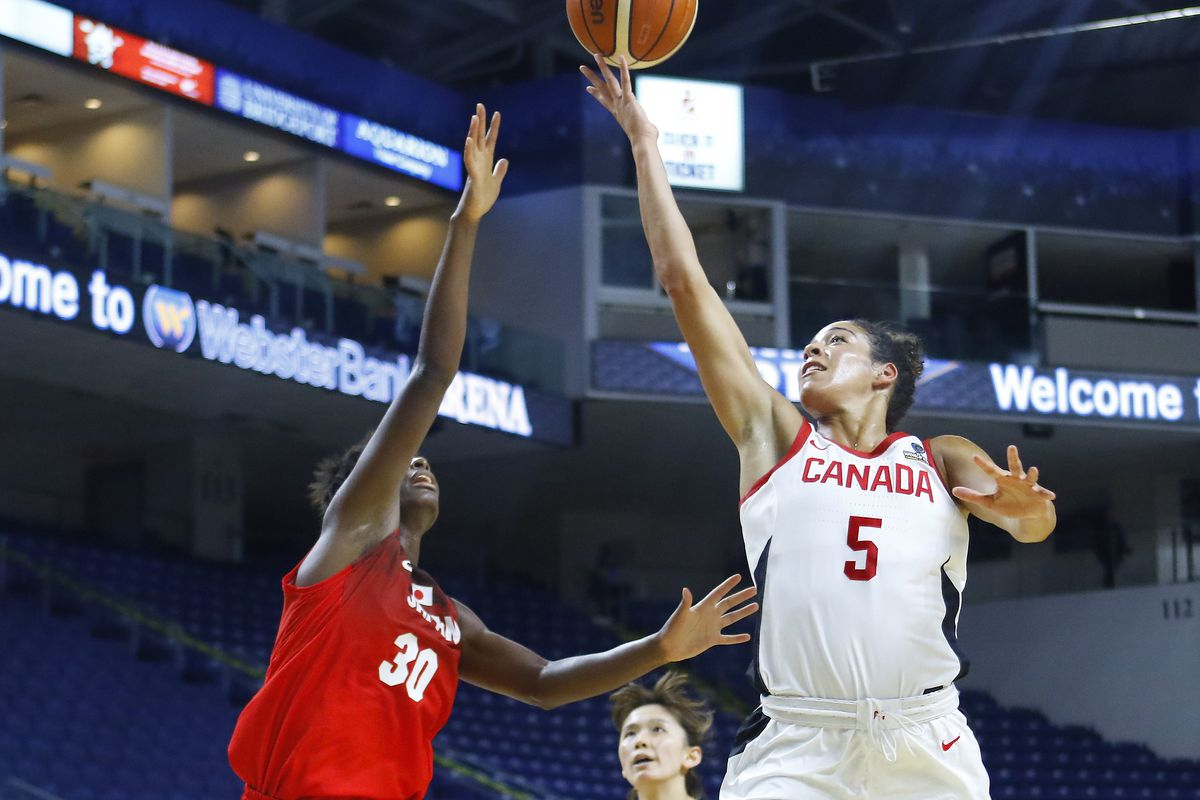 kia nurse has big plans to grow women s game in canada the uconn blog. Black Bedroom Furniture Sets. Home Design Ideas