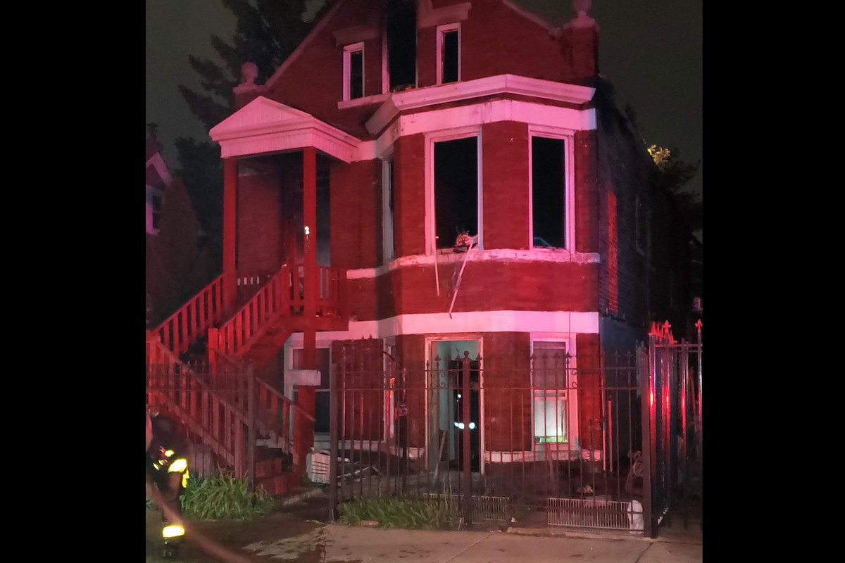 Firefighters responded to a fatal fire early Friday in the 2600 block of South Harding Avenue.
